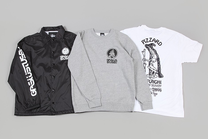 Gasius Stüssy pizza capsule collection 001