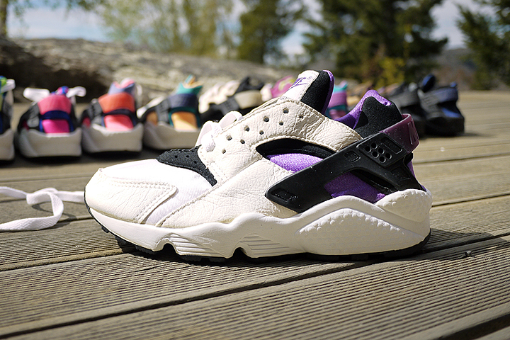 10 best Nike Air Huarache colourways of all time by Crepe City for The Daily Street Purple Punch