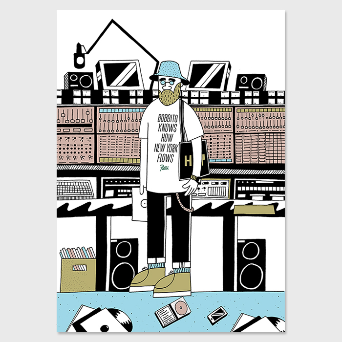 Patta Bobbito by Josh Parkin for The Hip Store 02