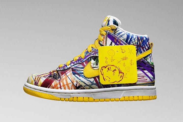 Nike Dunk High Premium 'Scribble' (Kids)