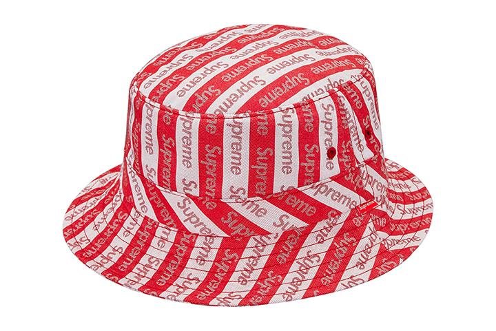679b5fa39c2 Supreme Jacquard Logo Crusher bucket hat