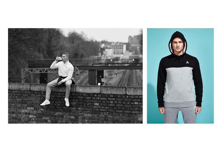 Le Coq Sportif SS15 Tricolor Collection lookbook The Daily Street 01
