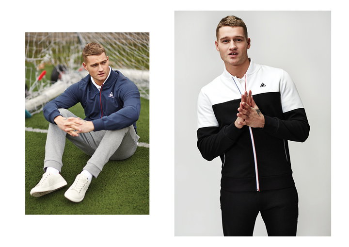 Le Coq Sportif SS15 Tricolor Collection lookbook The Daily Street 03