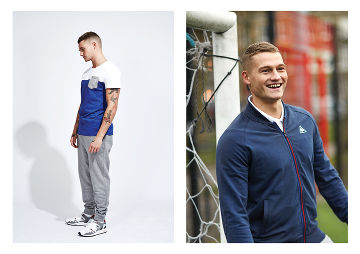 Le Coq Sportif SS15 Tricolor Collection lookbook The Daily Street 06