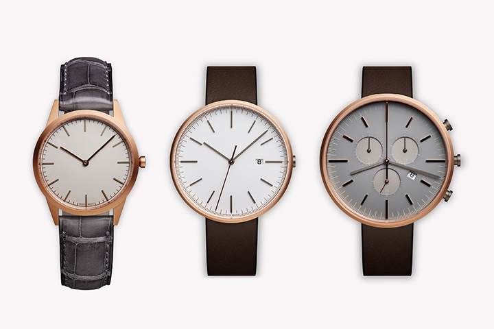Uniform Wares Rose Gold collection 01