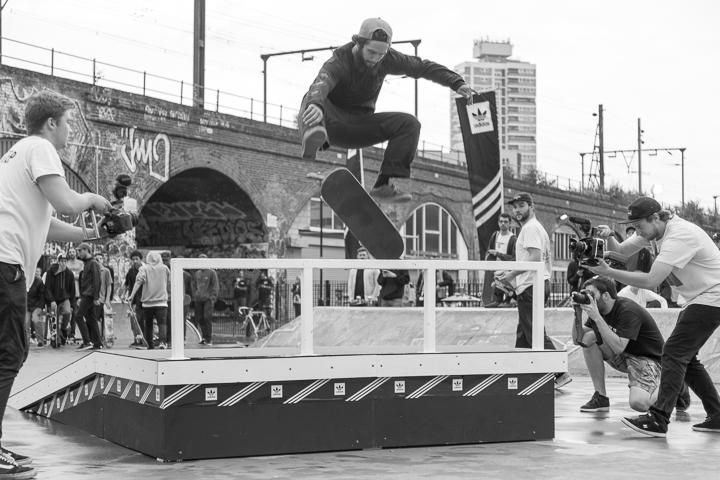 Recap adidas Skateboarding BOOST THE BAR Mile End London-7