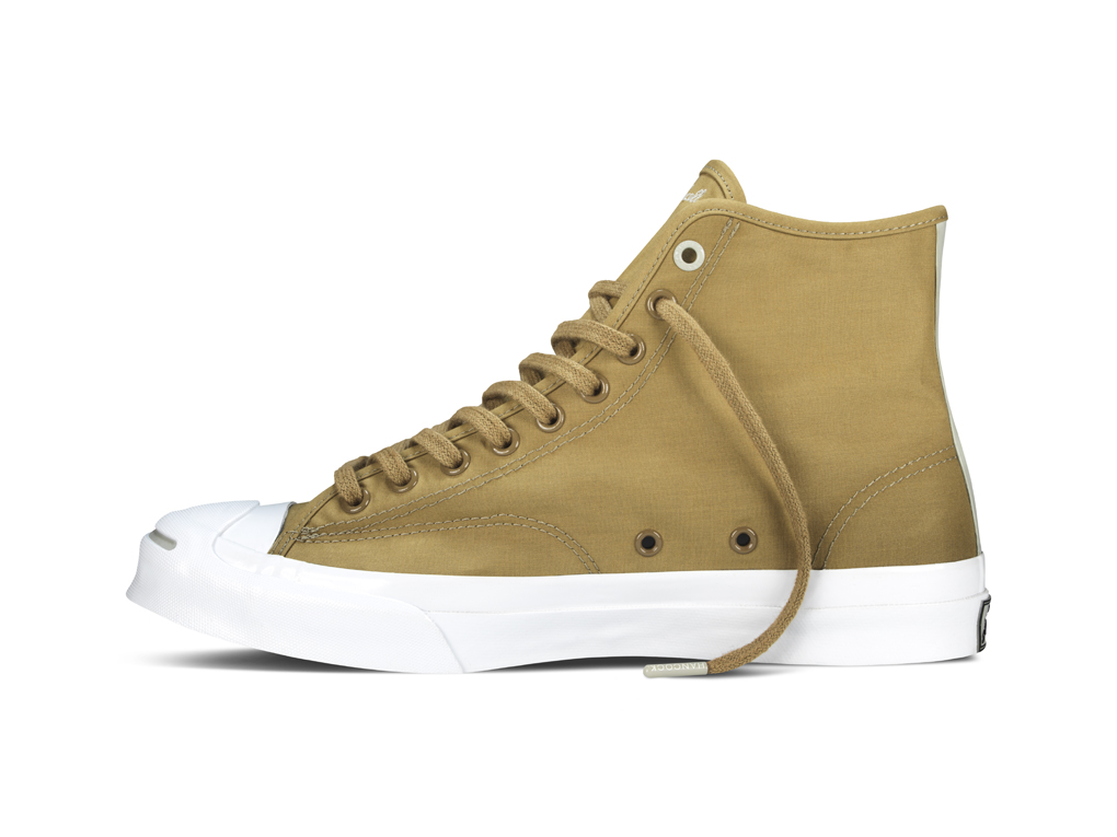 Hancock Vulcanised Articles Converse First String Jack Purcell Signature Hi 02