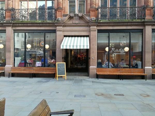Rudys Pizza Liverpool Restaurants