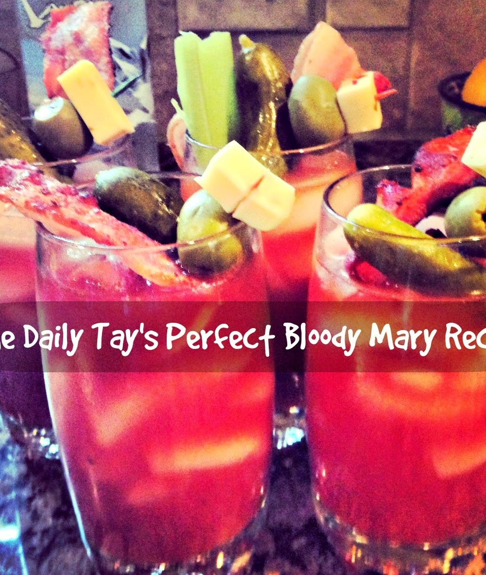 A Bloody Mary Recipe