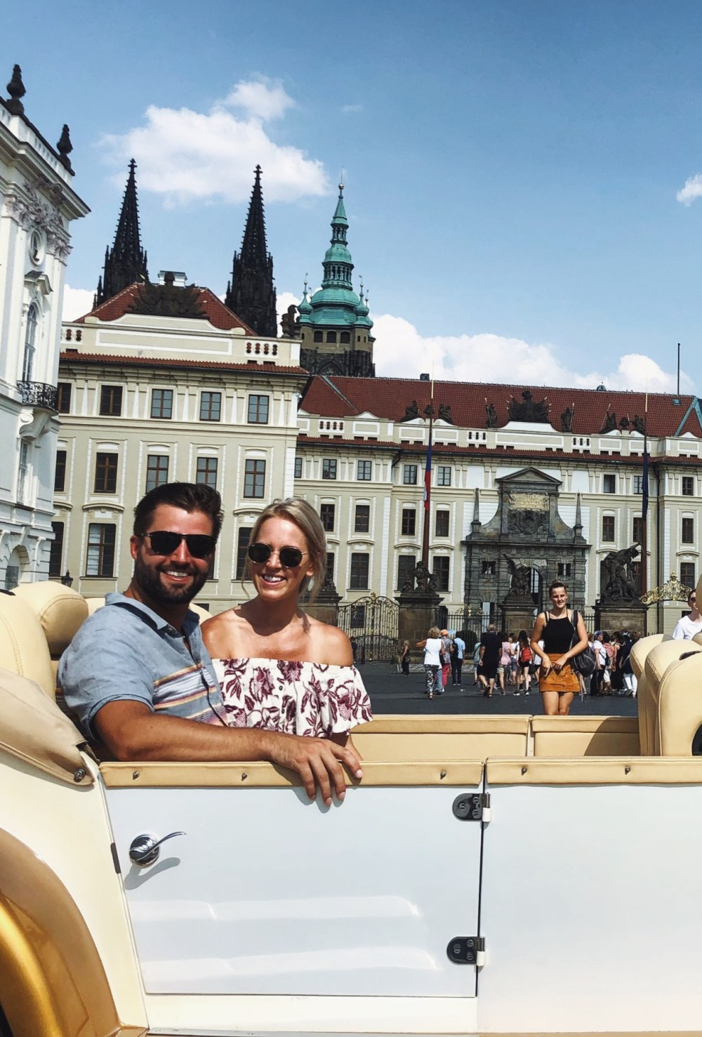 Prague Greetings From Clint and Tammy