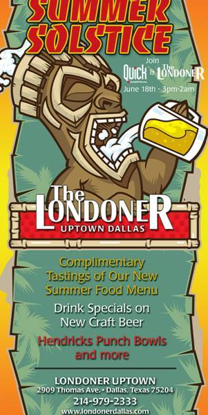 Summer Solstice at The Londoner