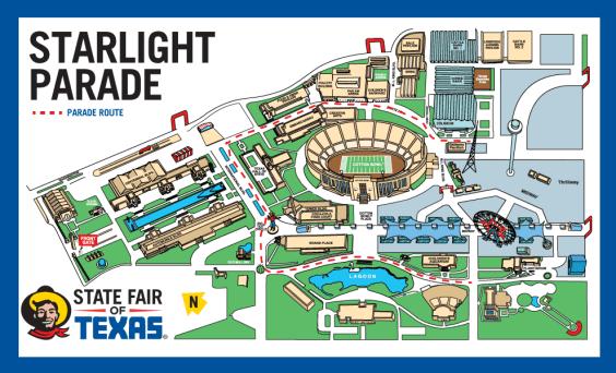 starlight parade - The state fair of texas