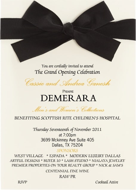 Demerara Grand Opening Party Dallas Socials