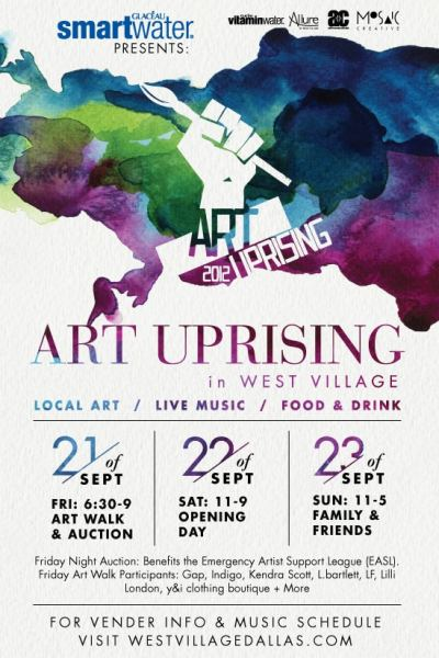 ART UPRISING: Free Two Day Art Event in West Village