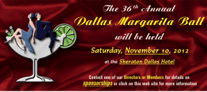 Be a Sponsor at the 36th Annual Margarita Ball