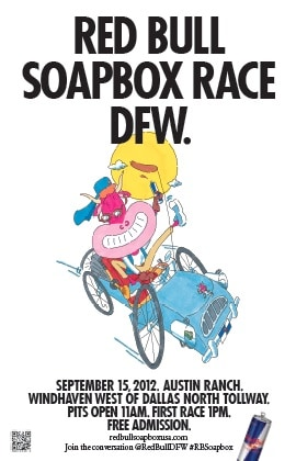 Red Bull Soapbox Race Comes to North Texas