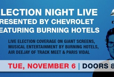 Spend the 2012 Election Night at the Granada Theater