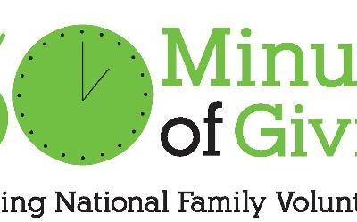 Volunteer Your Time on National Family Volunteer Day