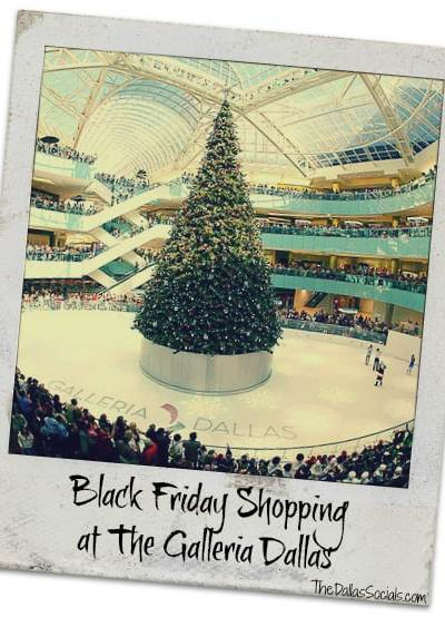 Black Friday at the Dallas Galleria