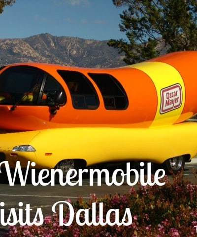 The @Wienermobile Visits Dallas This Week