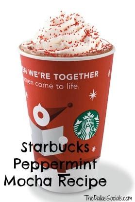 Starbucks Peppermint Mocha Recipe