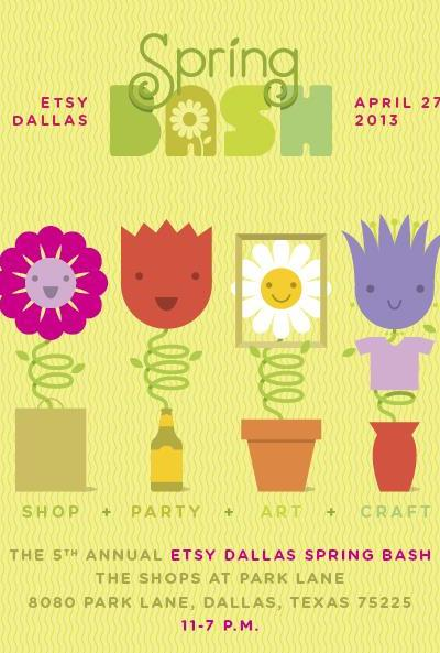 Etsy Dallas Hosts Spring Bash at Shops at Park Lane