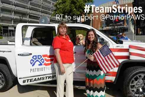 #TeamStripes