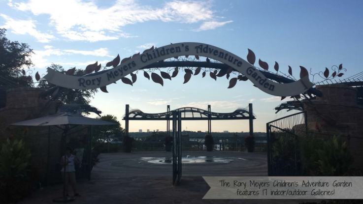 Rory Meyers Children's Adventure Garden features 17 Indoor/Outdoor Galleries. #Dallas #Arboretum
