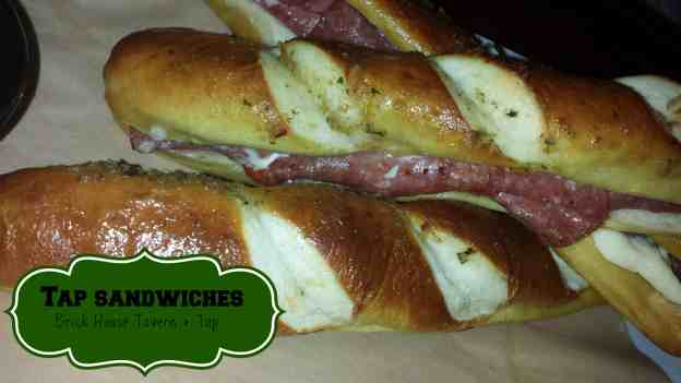 Tap Sandwiches from Brick House Tavern + Tap