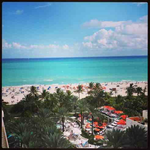 Miami Beach View from Loews Hotel