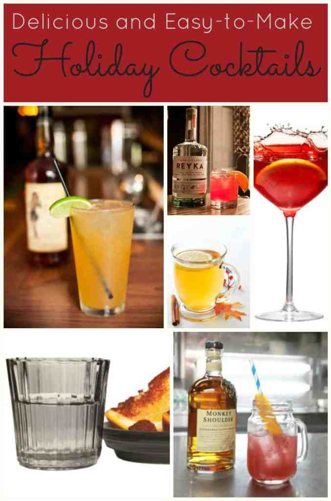 Delicious and Easy to Make Holiday Cocktails - The Dallas Socials