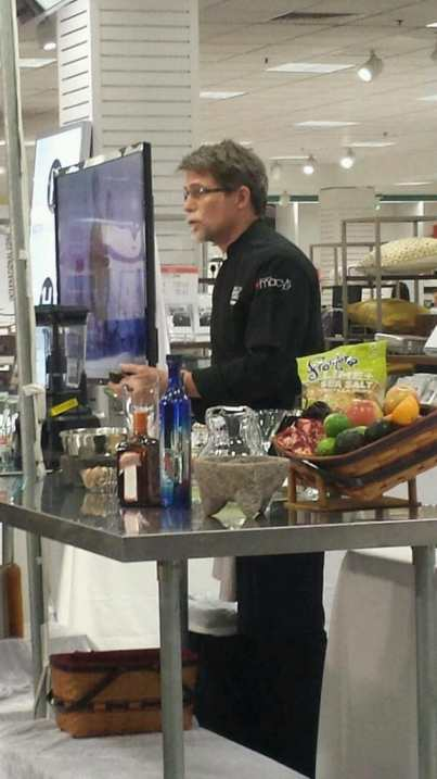 Rick Bayless at Macy's Culinary Council - Northpark Center Dallas