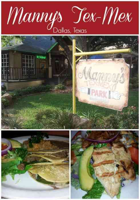 Manny's Tex-Mex in #Dallas is one of the best mexican restaurants in North Texas. #travel