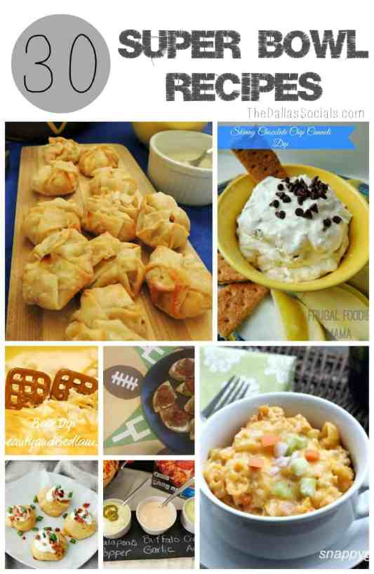 Super Bowl Recipes that are Easy to Make AND delicious! #food #gameday #superbowl