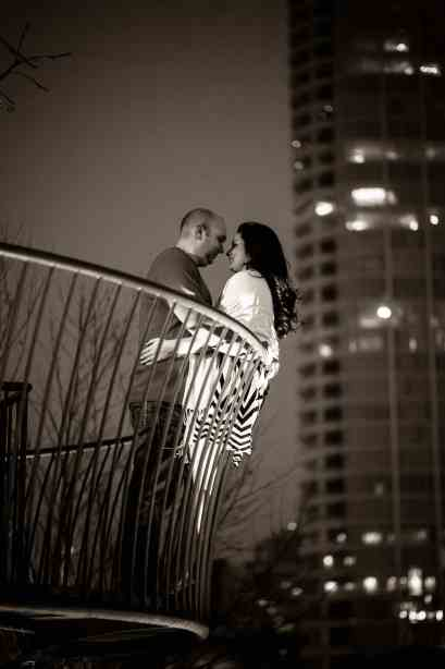 Dallas Engagement Pictures taken at Klyde Warren Park #dallas #wedding