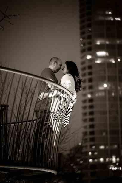 Dallas Engagement Pictures taken at Klyde Warren Park #dallas #wedding