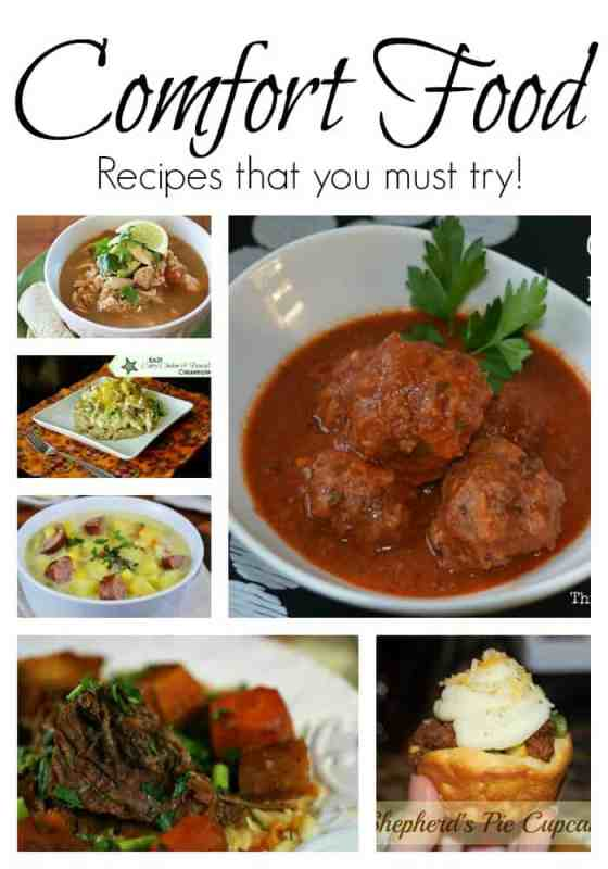 Comfort Food Recipes that you Must try!