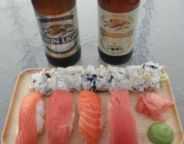 Homemade Sushi and Nigiri - #recipe