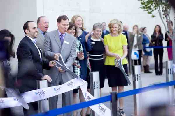 Ribbon Cutting Belk Dallas