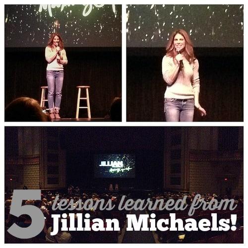 5 Lessons Learned from Jillian Michaels