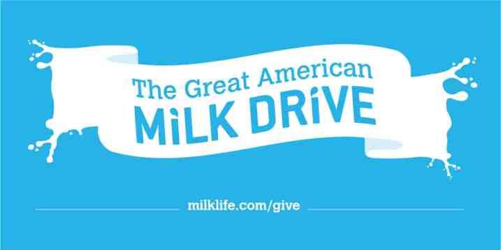 The Great American Milk Drive #milkdrive #ad