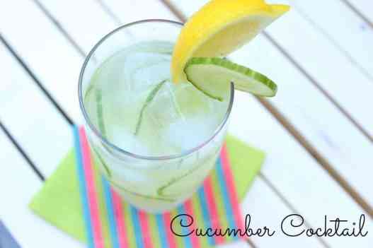 Cucumber Cocktail - Perfect for Summer!