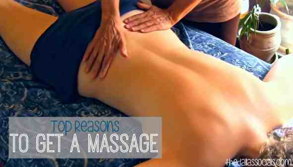 Top Reasons to Get a Massage
