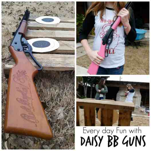 Everyday Fun with Daisy BB Guns