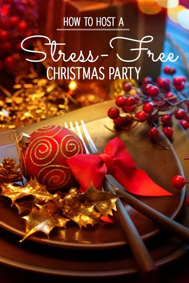 How to Host a Stress-Free Christmas Party
