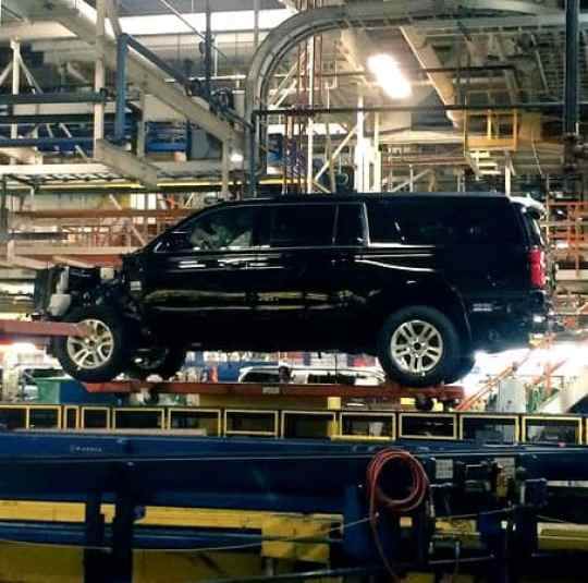 Inside the GM Plant - Arlington