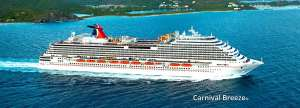 Cruise on Carnival Breeze Out of Galveston Starting May 2016