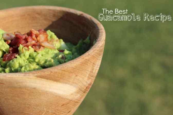 The Best Guacmole Recipe