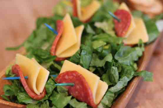 Salame Salad - Hillshire Snacking