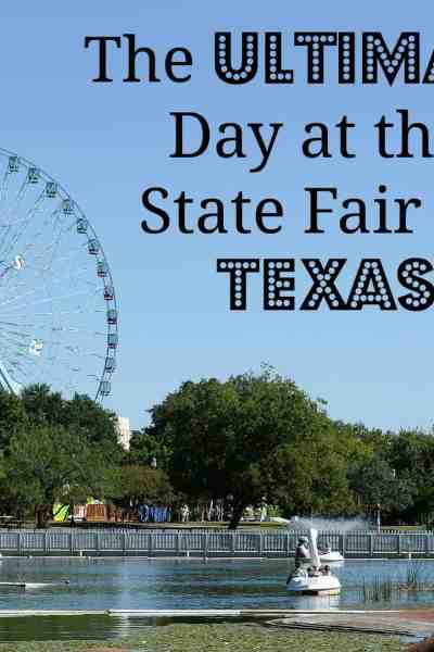 The Ultimate Day at the State Fair of Texas